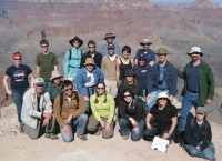 Jim's Class and Research Group at the Grand Canyon
