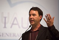 Jim at the 2009 IAU in Rio