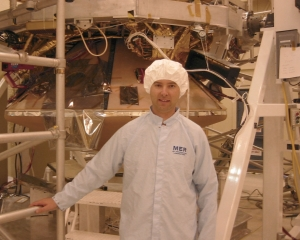 Jim in the clean room