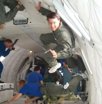Jim in the Vomit Comet
