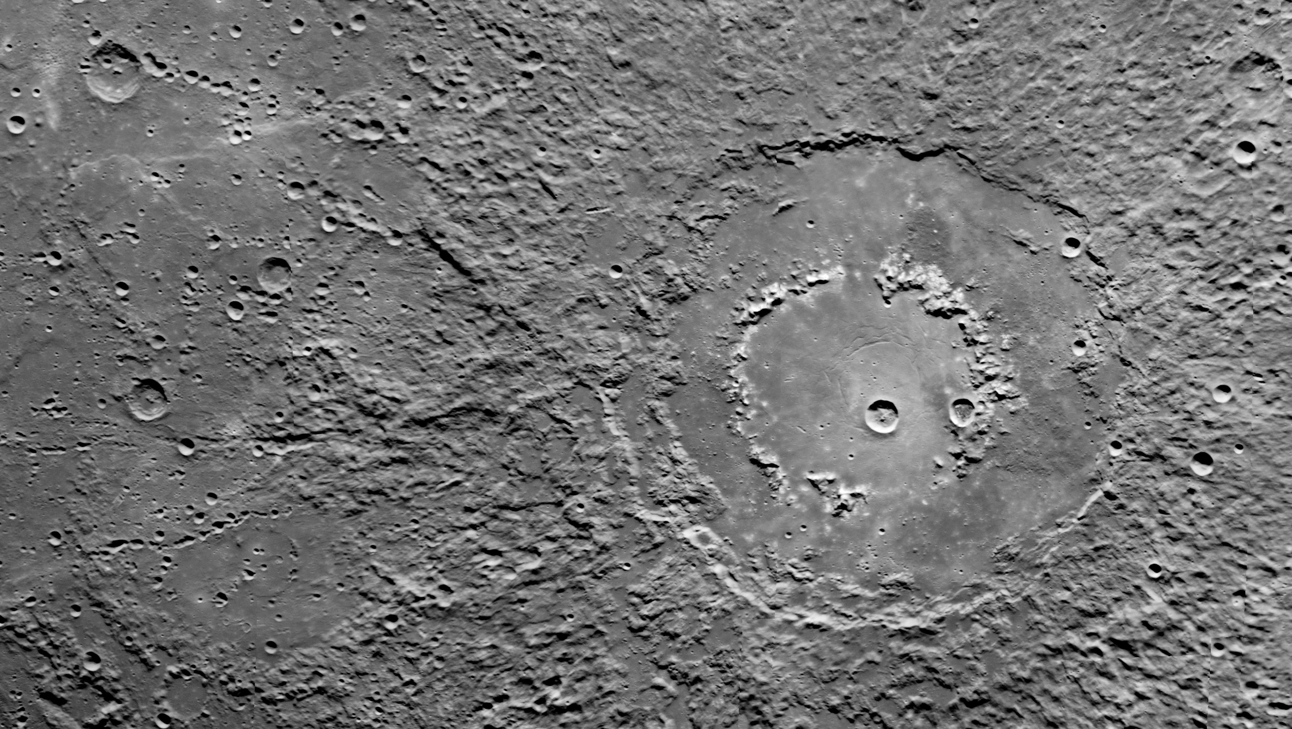 Background: MESSENGER Mercury