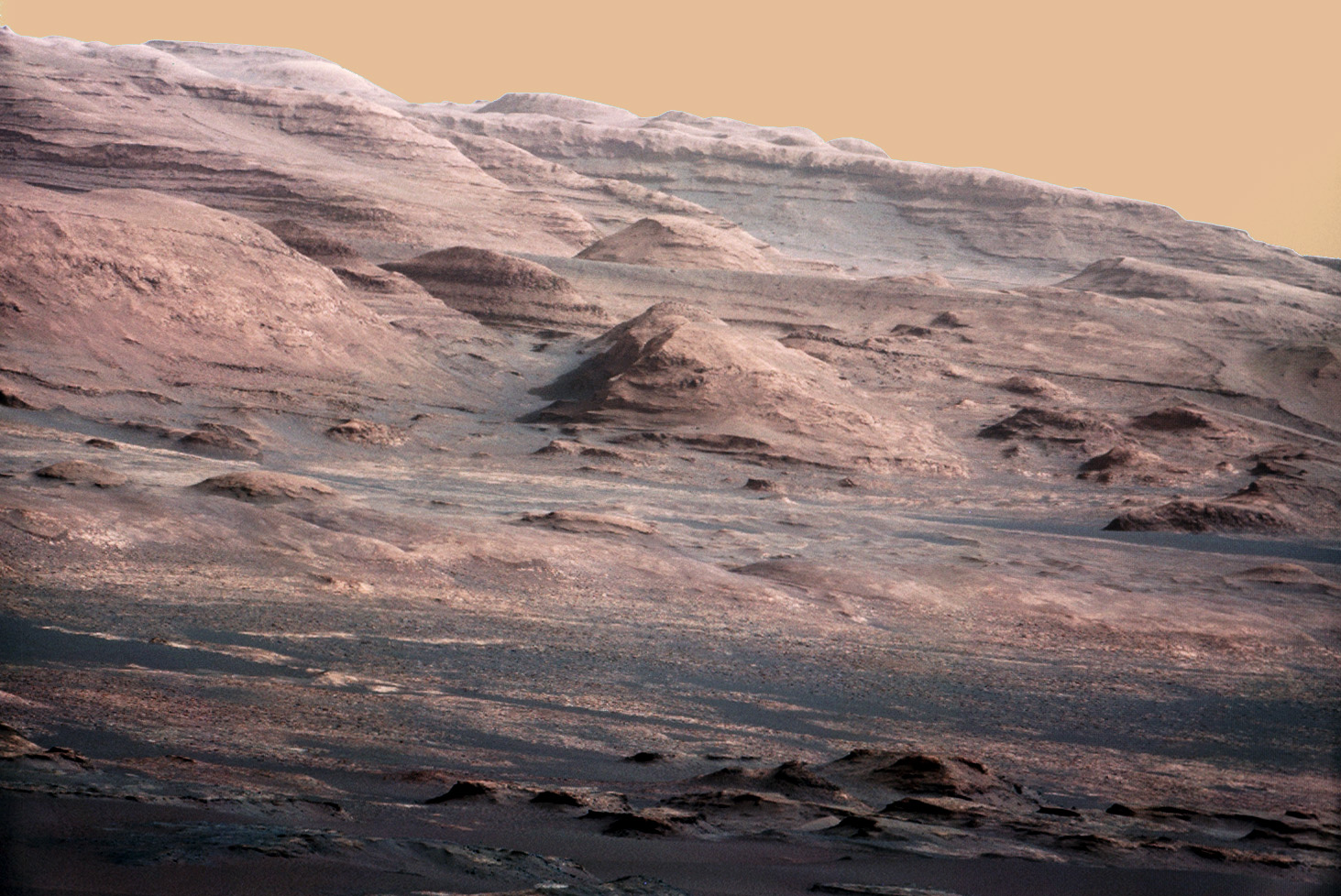 Background: Mt. Sharp M-100