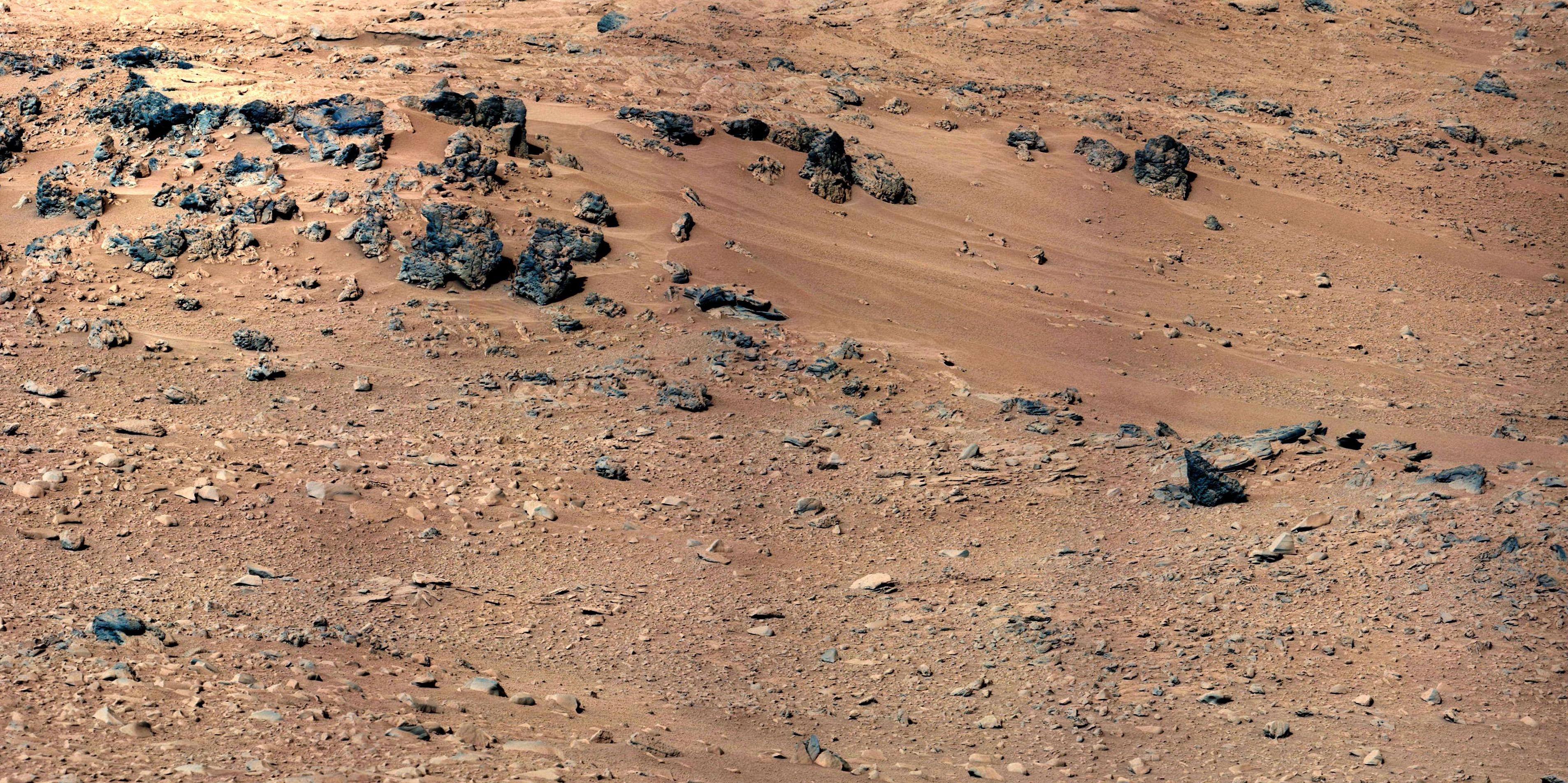 Background: Rocknest Sol 52